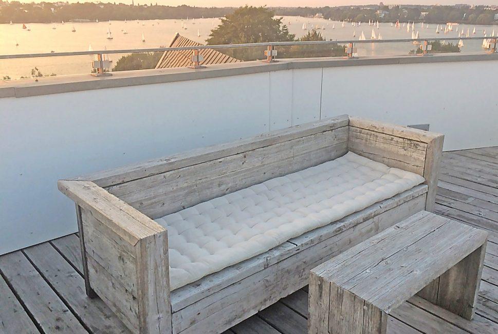 Sitzbank für Draussen | JANSSON Mashup Design, Hamburg