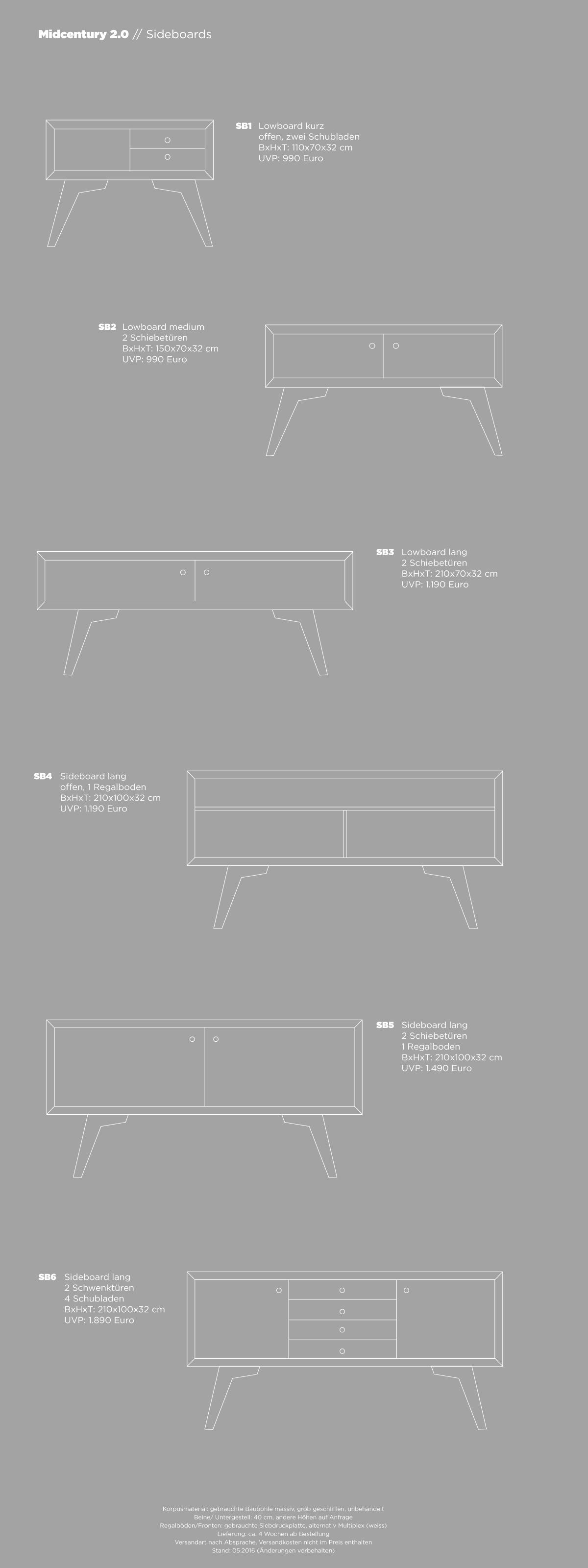 midcentury-sideboards